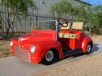 First time offered.1947 ford replica golf cart.This