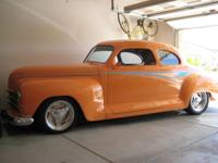 Frame off restoration. Custom 1947 Plymouth Coupe, 350