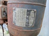 1948 1/3 HORSEPOWER DUNLAP SPLIT PHASE MOTOR FOR SALE