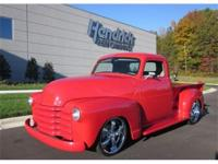 This 1948 Chevrolet 3100 Series Pickup features a V8