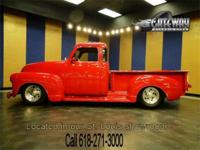 Up for grabs a 1948 Chevrolet 5 Window pickup street