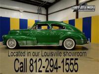 This classy 1948 Chevrolet Fleetline Aerosedan was the
