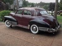 1948 Chevrolet Fleetline Running 2 years ago, now
