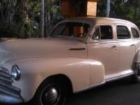 1948 Chevrolet Fleetmaster All Original, engine has