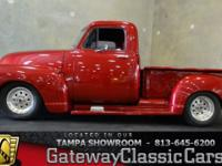 Stock #597-TPA 1948 Chevrolet Pickup  $33,995 Engine: