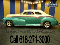 A 1948 Chevrolet street rod is up for sale! The 2 door