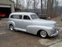This gorgeous 1948 Chevy Van Delivery will turn heads