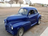 1948 Chevy Coupe-350 HP 4 Bolt Goodwrench Motor