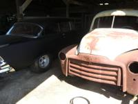 1948 Chevy panel that has been subframed and boxed in,