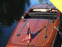 - Stock #52080 - 1948 Chris-Craft 17' Runabout ALL