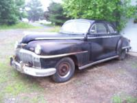 FORSALE 1948 DEOTO 2 DOOR COUPE,BILL OF SALE ONLY,NO