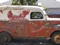 This sale is for a 1948 Dodge 1/2 Ton Panel truck. It