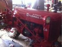 Nice farmall cub! New paint and decals. Good tires.