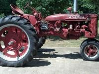 This used to run great, I used as a show tractor, but
