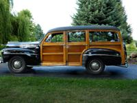 1948 Ford 79 Deluxe Station Wagon. Excellent condition