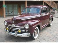 ALL 1946 - 48 FORD DELUXE 2 DOORS IN ESSENCE, RESTYLED