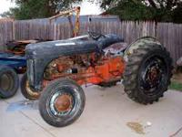 For Sale 1948 Ford Ferguson Tractor. 80hp 9N. Runs