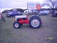 Restored 1948/1949 Ford Tractor. Invested $4500.00.