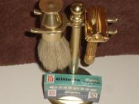 1948 Gillette Aristocrat Razor w Brush and