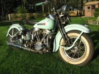 This 1948 Panhead was found in the corner of a garage