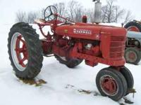 1948 IH H FARMALL TRACTOR NF 12 VOLT SYSTEM RUNS GOOD