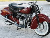 Marketed is this completely brought back 1948 Indian