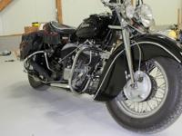 I have for sale a 1948 Indian Chief built by Krumms
