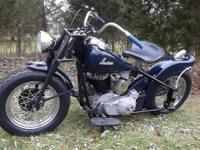 1948 Indian Chief Bobber Hot Rod Clear. Title shows