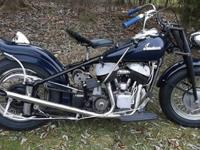 Title shows 1948 Indian Chief.Motor is 48 Chief. Frame