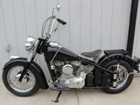 1948 Indian Chief Complete comprehensive restoration.