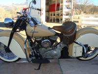 1948 Indian Chief Motorcycle 1200cc Flathead - 6 Volt -