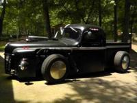 1948 International rat rod priced to sell 307 Blown