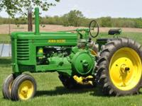 1948 JOHN DEERE G, Engine: 16, Manual transmission, 50
