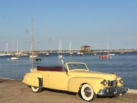1948 Lincoln Continental Convertible Yellow. 1948