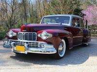 1948 Lincoln Continental Coupe V12 C-4 Automatic.  When