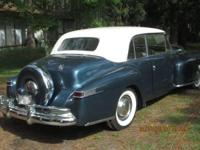 1948 Lincoln Continental for sale (FL) - $39,995. Blue
