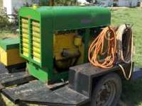 welds good.hand crank.trailer gos with. Location: