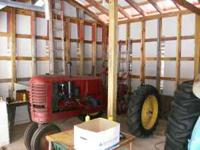 Rare 1948 Massey Harris Model 20 Rowcrop for sale. 1 of