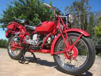 This cool and classic looking 500cc single