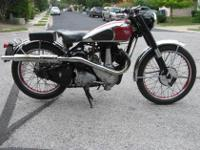 48 yb34 competition 500cc single.this is the unusual