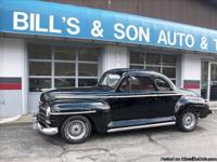 Here's a Nice Street Rod, 1948 Plymouth Deluxe 2dr
