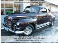1948 Plymouth Special Deluxe 2dr Club Coupe, Call for