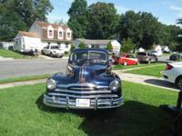 1948 Pontiac Silver Streak 8 2 Door Torpedo Coupe ,