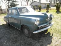 1948 ready for restoration, needs driver fender and