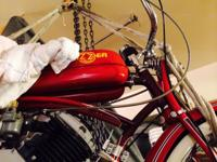 1948 Whizzer Model H, Engine: 148cc, 30,000 miles,