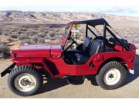 Year : 1948 Make : Willys Model : CJ2 Exterior Color :