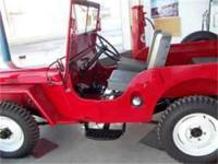 This is a 1948 Willys CJ2A All Original. This is a