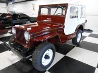 Year: 1948 Make: Willys Version: JEEP CJ-2A Bodystyle: