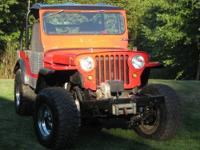 1948 Willys JEEP: All steel body, sandblasted and all