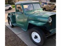 Year : 1948 Make : Willys-Overland Model : Jeepster